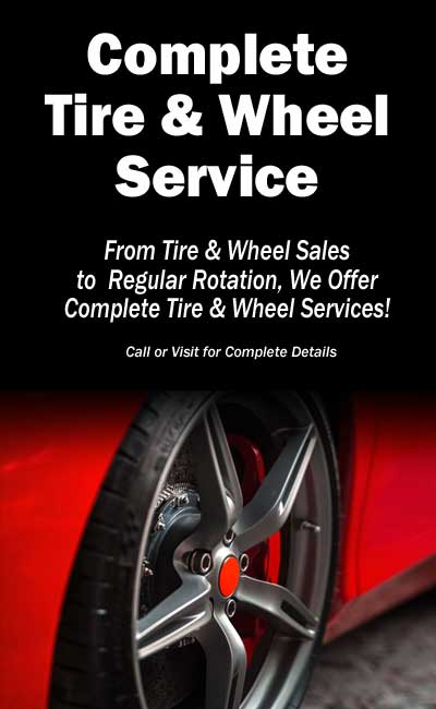 Local Tire & Wheel Sales Service NC SC